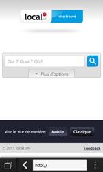 BlackBerry Z10 - Internet et roaming de données - Navigation sur Internet - Étape 9