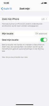 Apple iphone-x-met-ios-13-model-a1901 - Beveiliging en ouderlijk toezicht - Zoek mijn iPhone inschakelen - Stap 10