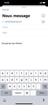 Apple iPhone 11 - E-mail - envoyer un e-mail - Étape 5