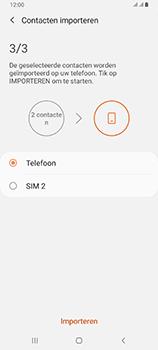 Samsung galaxy-a80-dual-sim-sm-a805fz - Contacten en data - Contacten kopiëren van SIM naar toestel - Stap 12