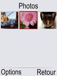 Doro Phone Easy 621 - Photos, vidéos, musique - Envoyer une photo via Bluetooth - Étape 5