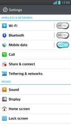 LG D505 Optimus F6 - Voicemail - Manual configuration - Step 4
