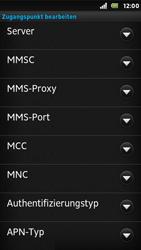 Sony Xperia U - Internet - Apn-Einstellungen - 14 / 23