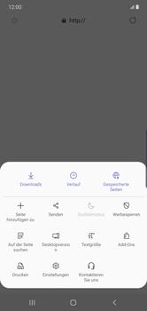 Samsung Galaxy Note 10 Plus 5G - Internet und Datenroaming - Manuelle Konfiguration - Schritt 24