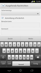Sony Xperia V - E-Mail - Manuelle Konfiguration - Schritt 12