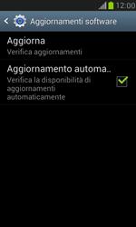 Samsung Galaxy S III Mini - Software - Installazione degli aggiornamenti software - Fase 9
