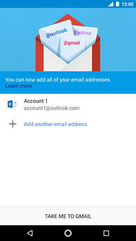 Nokia 6 (2018) - E-mail - Manual configuration (outlook) - Step 12