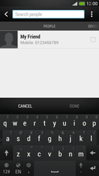 HTC One Mini - MMS - Sending pictures - Step 4