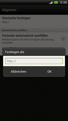 HTC One X - Internet - Manuelle Konfiguration - 21 / 23