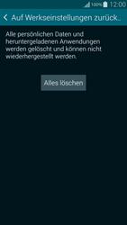 Samsung Galaxy Alpha - Fehlerbehebung - Handy zurücksetzen - 2 / 2