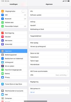 Apple ipad-pro-11-inch-2018-model-a1934 - Bluetooth - Aanzetten - Stap 2