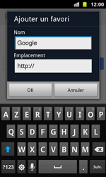 Samsung I8160 Galaxy Ace II - Internet - Navigation sur Internet - Étape 5