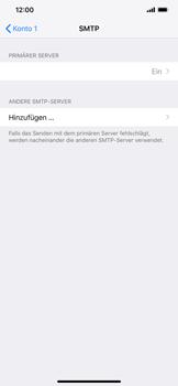 Apple iPhone XS Max - E-Mail - Manuelle Konfiguration - Schritt 20