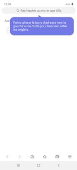 Samsung Galaxy Note 10 Lite - Internet et connexion - Naviguer sur internet - Étape 16
