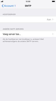 Apple iPhone 8 Plus - iOS 12 - E-mail - Account instellen (POP3 zonder SMTP-verificatie) - Stap 20