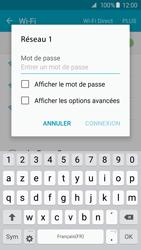 Samsung G920F Galaxy S6 - Wi-Fi - Accéder au réseau Wi-Fi - Étape 7