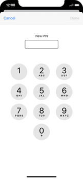 Apple iPhone 11 Pro - Security - Set the PIN code for your SIM card - Step 8