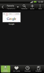 HTC One SV - Internet et roaming de données - Navigation sur Internet - Étape 11