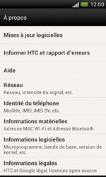 HTC Desire X - Logiciels - Installation de mises à jour - Étape 7