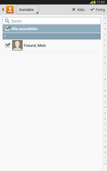 Samsung Galaxy Note 8-0 - E-Mail - E-Mail versenden - 0 / 0