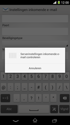 Sony C6903 Xperia Z1 - E-mail - e-mail instellen: IMAP (aanbevolen) - Stap 11