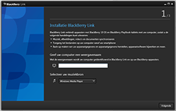 BlackBerry Z30 - software - pc suite installeren - stap 11