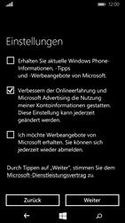 Microsoft Lumia 640 - Apps - Konto anlegen und einrichten - 20 / 26