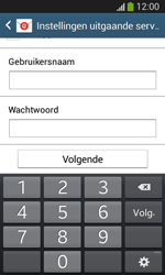 Samsung Galaxy S3 Mini VE (I8200N) - E-mail - Account instellen (POP3 met SMTP-verificatie) - Stap 16