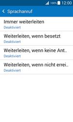 Samsung Galaxy J1 - Anrufe - Rufumleitungen setzen und löschen - 10 / 13