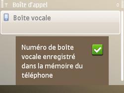 Nokia E72 - Messagerie vocale - configuration manuelle - Étape 9