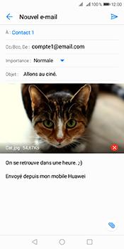 Huawei Y6 (2018) - E-mails - Envoyer un e-mail - Étape 15