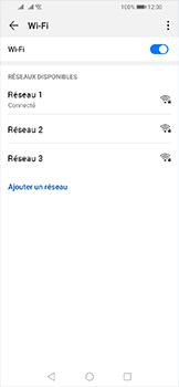 Huawei Y6 (2019) - Wifi - configuration manuelle - Étape 7