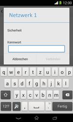 Sony Xperia E1 - WLAN - Manuelle Konfiguration - Schritt 7