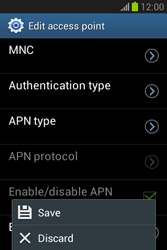 Samsung Galaxy Fame Lite - MMS - Manual configuration - Step 16