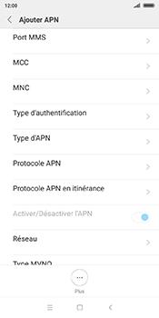 Xiaomi Redmi 5 - Internet - Configuration manuelle - Étape 11