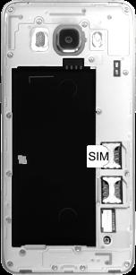 Samsung Galaxy J5 (2016) DualSim - SIM-Karte - Einlegen - 2 / 2