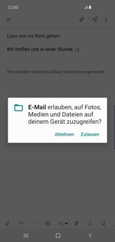 Samsung Galaxy S10 Plus - E-Mail - E-Mail versenden - Schritt 14