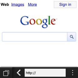 BlackBerry Q10 - Internet - Internet browsing - Step 4