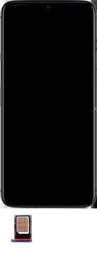 OnePlus 7T - Premiers pas - Insérer la carte SIM - Étape 4