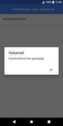 Sony Xperia XZ2 Compact - Voicemail - Handmatig instellen - Stap 11
