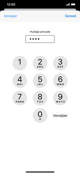 Apple iPhone XS Max - iOS 13 - Beveiliging - Stel de pincode voor je simkaart in - Stap 7