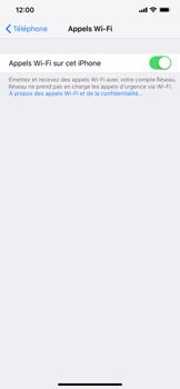 Apple iPhone XR - WiFi - Activez WiFi Calling - Étape 8