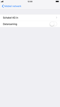 Apple iPhone 6 Plus - iOS 12 - Internet - Dataroaming uitschakelen - Stap 6