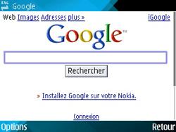 Nokia E71 - Internet - navigation sur Internet - Étape 5