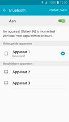 Samsung G920F Galaxy S6 - Bluetooth - Koppelen met ander apparaat - Stap 8