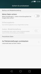 Huawei Ascend G7 - Fehlerbehebung - Handy zurücksetzen - 1 / 1