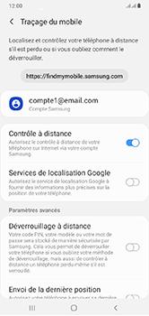Samsung Galaxy A10 - Appareil - configurer Localiser mon appareil - Étape 7