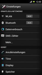 Sony Xperia J - Internet und Datenroaming - Deaktivieren von Datenroaming - Schritt 4