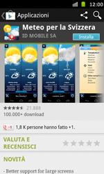 Samsung Galaxy S Advance - Applicazioni - Installazione delle applicazioni - Fase 14