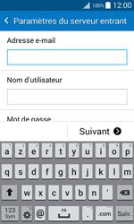 Samsung J100H Galaxy J1 - E-mail - Configuration manuelle - Étape 9